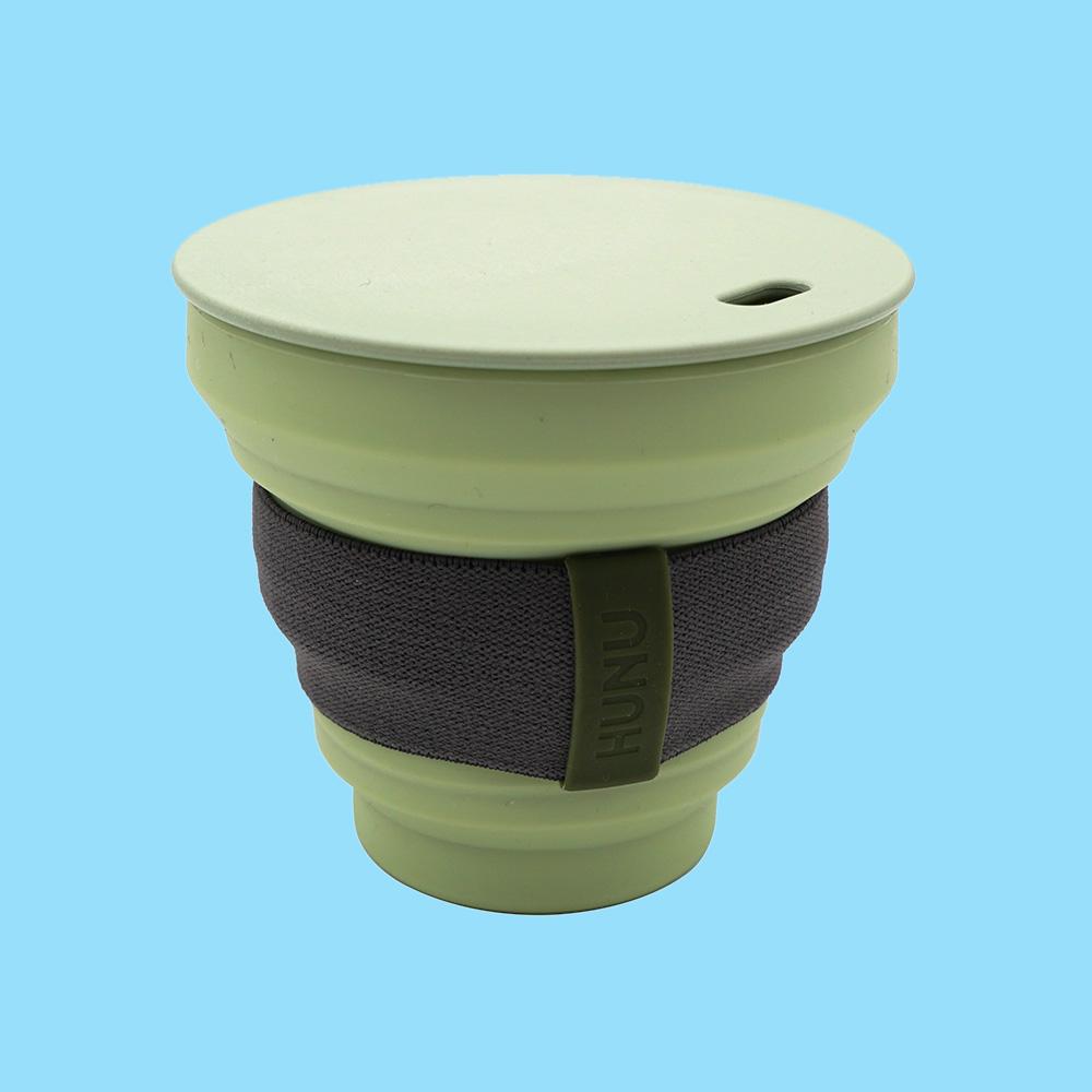 Hunu Collapsible Cup 8oz Sage Green
