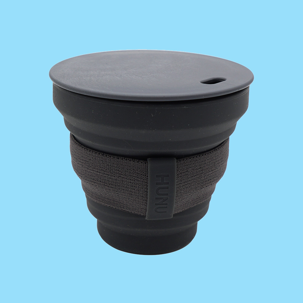 Hunu Collapsible Cup 8oz Charcoal