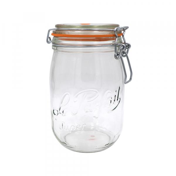 Le Parfait Clip Top Jar 1L