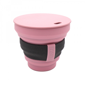 Hunu Collapsible Cup 8oz Pastel Pink